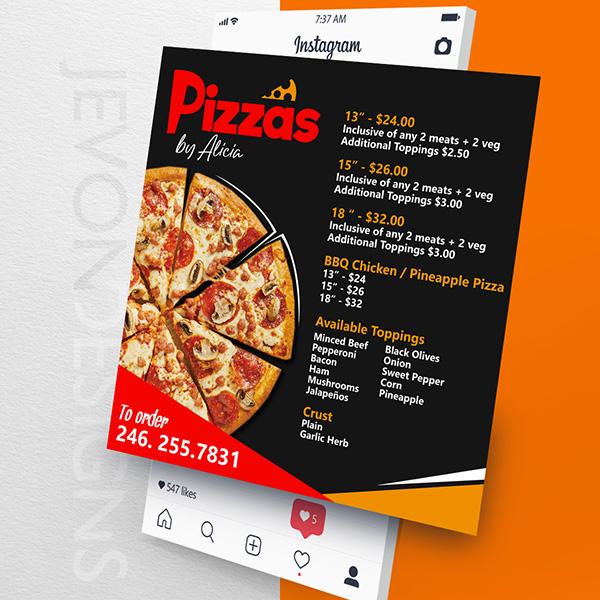 Pizza by Alicia