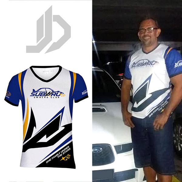Subaru Owner's Club Shirt Front